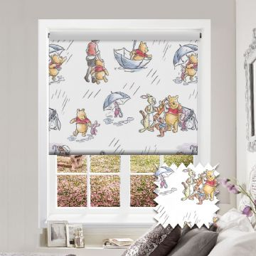 Winnie the Pooh Roller Blind Patterned Disney Blackout Fabric